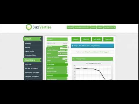 شرح  الشركة الربحية الرهيبة فى كسب الفلوس buxvertise  لتحقيق من خلال تصفح الاعلاانات