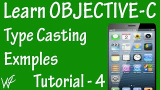 Free Objective C Programming Tutorial for Beginners 4 - TypeCasting in Objective C