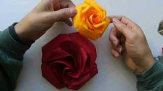 Repeat youtube video origami rose no2