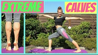 EXTREME CALVES Workout // Quick and Effective!