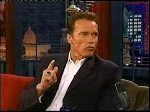 Arnold Schwarzenegger running for Governor 2003