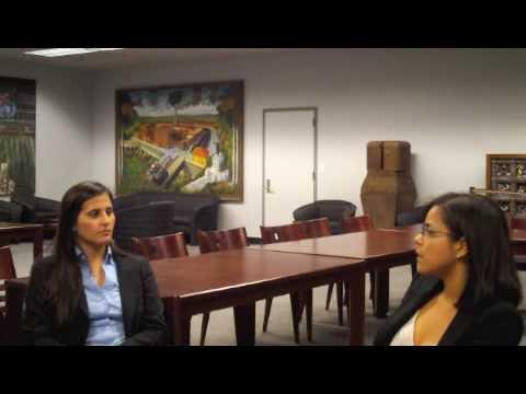 Valerie interviews Marcy