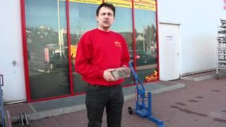 Steinknacker mieten bei Rentas, Anleitung