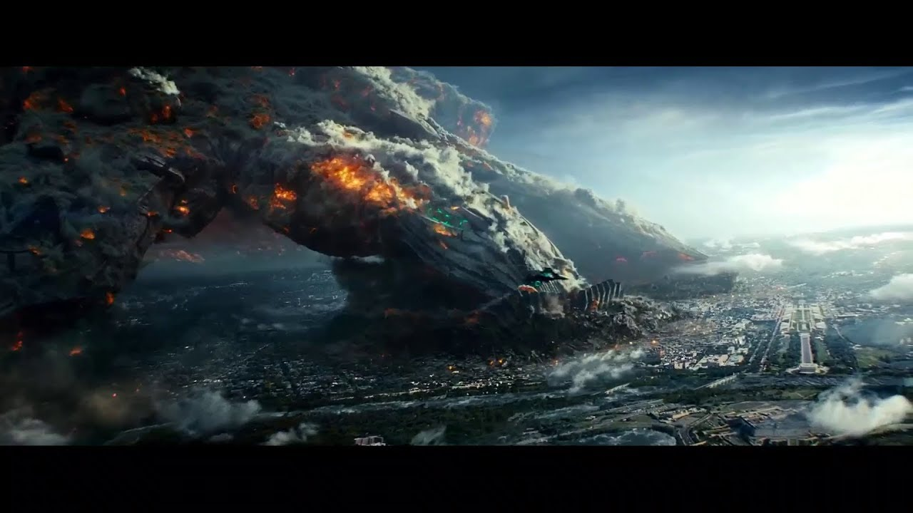 Download Independence Day Resurgence 2016 Humungous Spaceship Lands on Earth