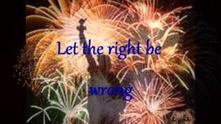 Independence Day  By Martina Mcbride ~lyrics Video