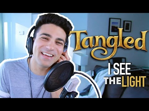 I SEE THE LIGHT (MALE PART ONLY) DISNEY COVER TANGLED | Daniel Coz