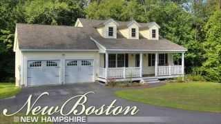 Front Porch Contemporary Ranch/cape | 48 Christian Farm Dr | New Boston, Nh | Real Estate