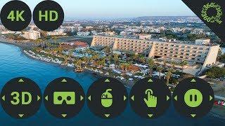 3D Hotel Palm Beach Hotel & Bungalows. Cyprus, Larnaca