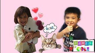 The 3 Little Kittens Play Hide and Seek Nursery Rhyme