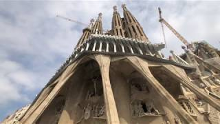 Park Guell and Sagrada Familia, Barcelona