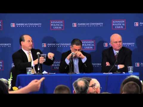 Former NSA Director Debates Journalist Involved in Snowden Leaks