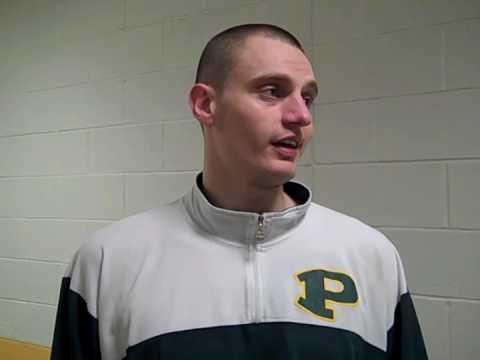 C.W. Post vs. St. Thomas Aquinas Men's Basketball Post Game Interview 2-24-10 NassauNewsLive.com