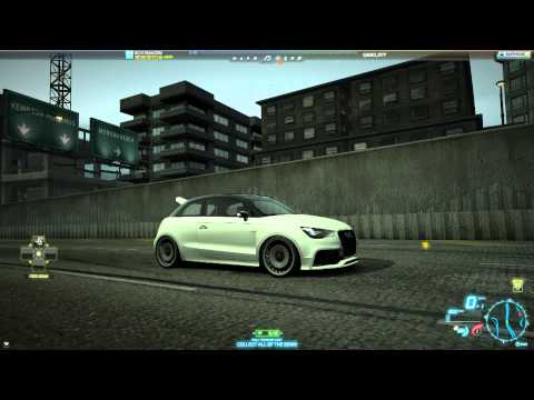 Need For Speed World Audi A1 Clubsport Quattro 30 Million Registrations Milestone (6 September 2013)