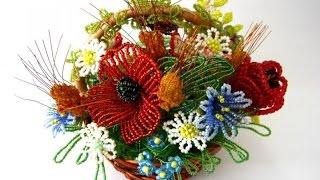 Как плести цветы из бисера? Вытворяшки