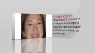 Chicago Appliance Repair Doctor Service  Review One