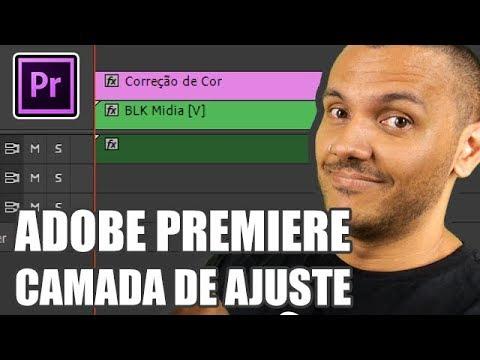Como usar camada de ajuste na correção de cor - Adobe Premiere