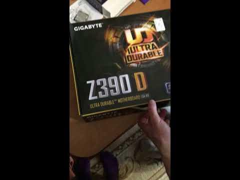 Материнская плата Gigabyte Z390 D (s1151, Intel Z390, PCI-Ex16)