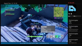Fortnite 3 wins in a row (squads)