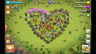 [Clash of Clans] th11 engeneered base first visit