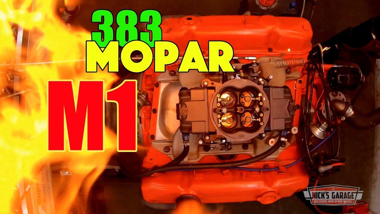 MOPAR Dyno Showdown - M1 vs. Torker 383 - HUGE Summertime Episode!