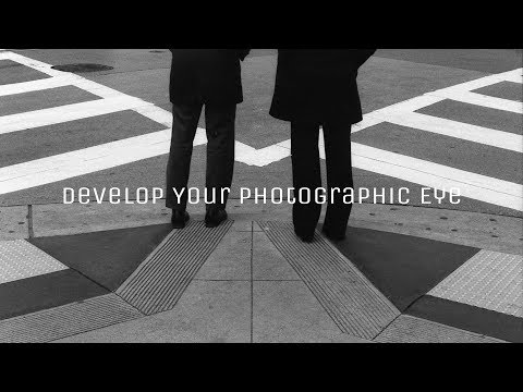 "Develop Your Eye To ""See"" In Street Photography (Quote By Henri Cartier-Bresson)"