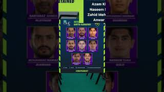 Quetta Gladiators Final Squad for HBLPSL 2021| All PSL Teams final squads after PSL 6 draft| #shorts
