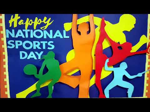 National Sports Day Art Ideas Youtube