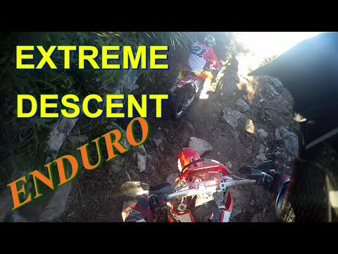 GROUP MEETING DIRT BIKE - SOLID STONE DESCENT - CRF AHEAD - GASGAS EC 250 ONBOARD
