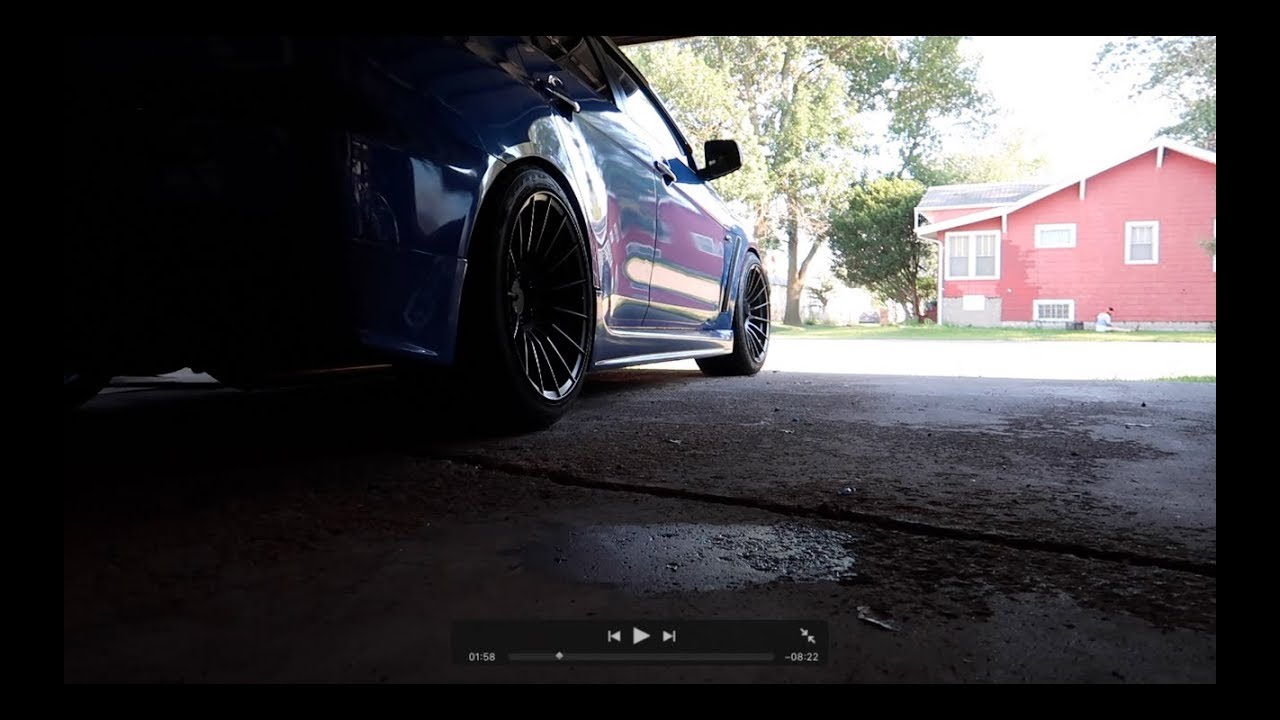 Evo X Oil Change Vlog  YouTube