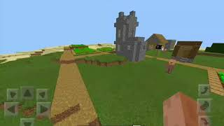 AWESOME MINECRAFT SEED: village with blacksmith and stronghold +massive ravine & desert temple