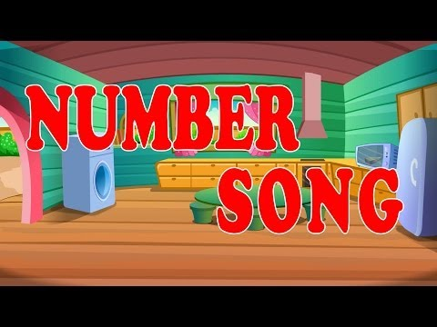 Number Song  Learning Numbers For Children  Kids Tv Nursery Rhymes  123 Numbers For Toddlers