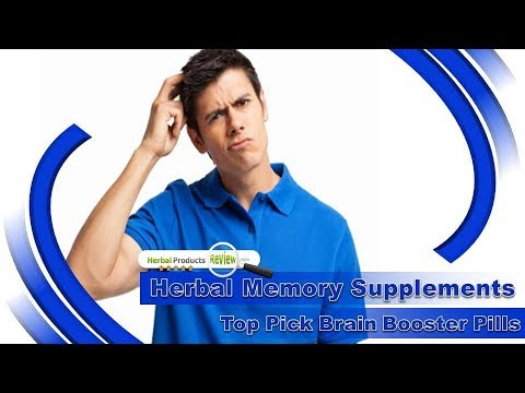 Herbal Memory Supplements, Top Pick Brain Booster Pills