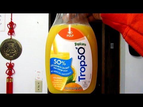 Fresh orange juice tropicana calories