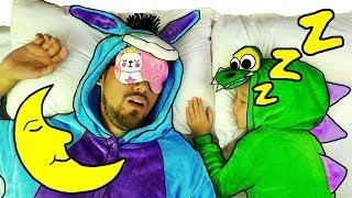 Yes Yes Bedtime | Nastya Pretend Play Bedtime Routine Brush Teeth | Canciones infantiles