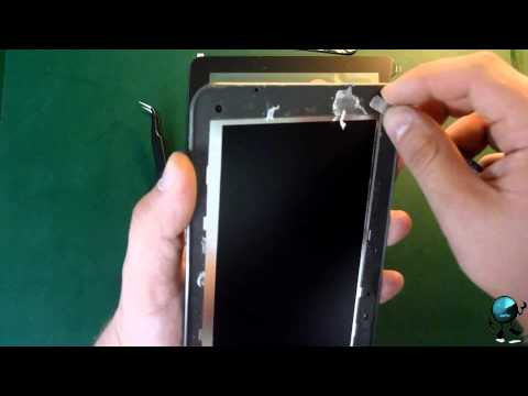 Medion Lifetab 7 0'' E7310 Disassembly Instruction Touch Screen Replacement