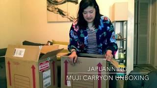JAPLANNING: Muji Hardcase Luggage 60L Unboxing