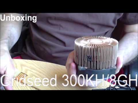 Lets Unbox 1 - Gridseed 5 Chip China Used Miner