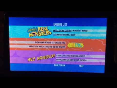 Nickelodeon Out of the Vault Encore Vol. 4 DVD Walkthrough