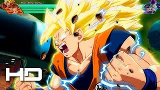 Dragon Ball FighterZ - Goku Super Saiyan 3 Transformation PC Mod Gameplay 1080p HD60