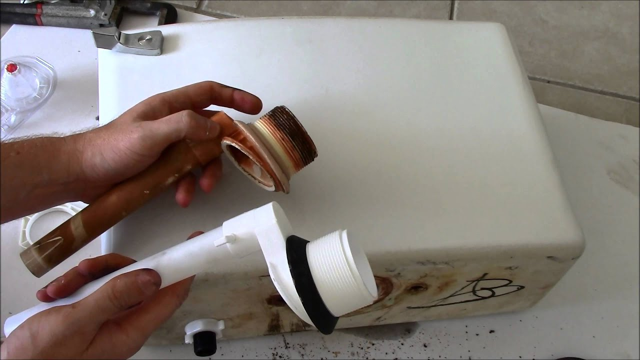 Replace A Leaking Toilet Flush Valve YouTube