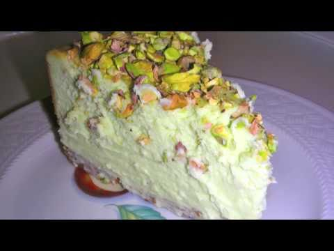 Pistachio Cheesecake Recipe - Topped With Chopped Pistachios from YouTube · Duration:  1 minutes 30 seconds