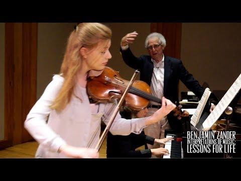 Benjamin Zander Masterclass 4.7 (Part 2) Beethoven Spring Sonata