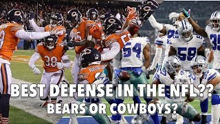 Best Defense in the NFL: Bears or Cowboys? || Stats + Analysis!