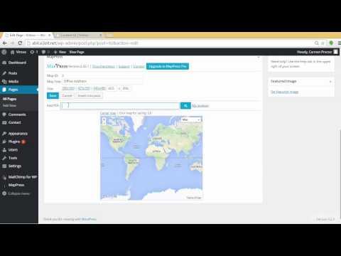 wordpress-tutorial-mappress-easy-google-maps