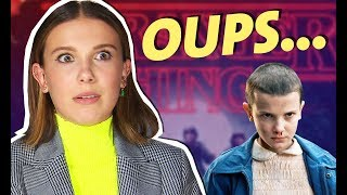 Millie Bobby Brown : sa boulette sur Stranger Things