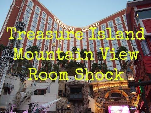 Treasure Island Mountain View Room Shock