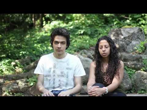 **Bloopers and Making-of** - Jar of Hearts - Christina Perri Cover by Michael Adel & Sally Dawoud