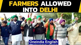 Farmers march into Delhi | To protest peacefully near Burari | Oneindia News