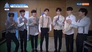 produce 101 season 2 국민의 아들   never never team members moments