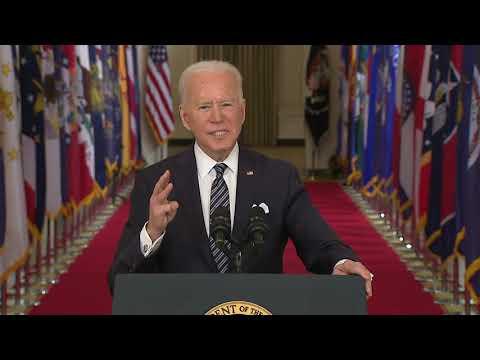 FULL SPEECH: President Biden's first prime-time address to the nation